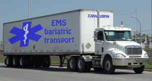 New Bariatric Transport unit